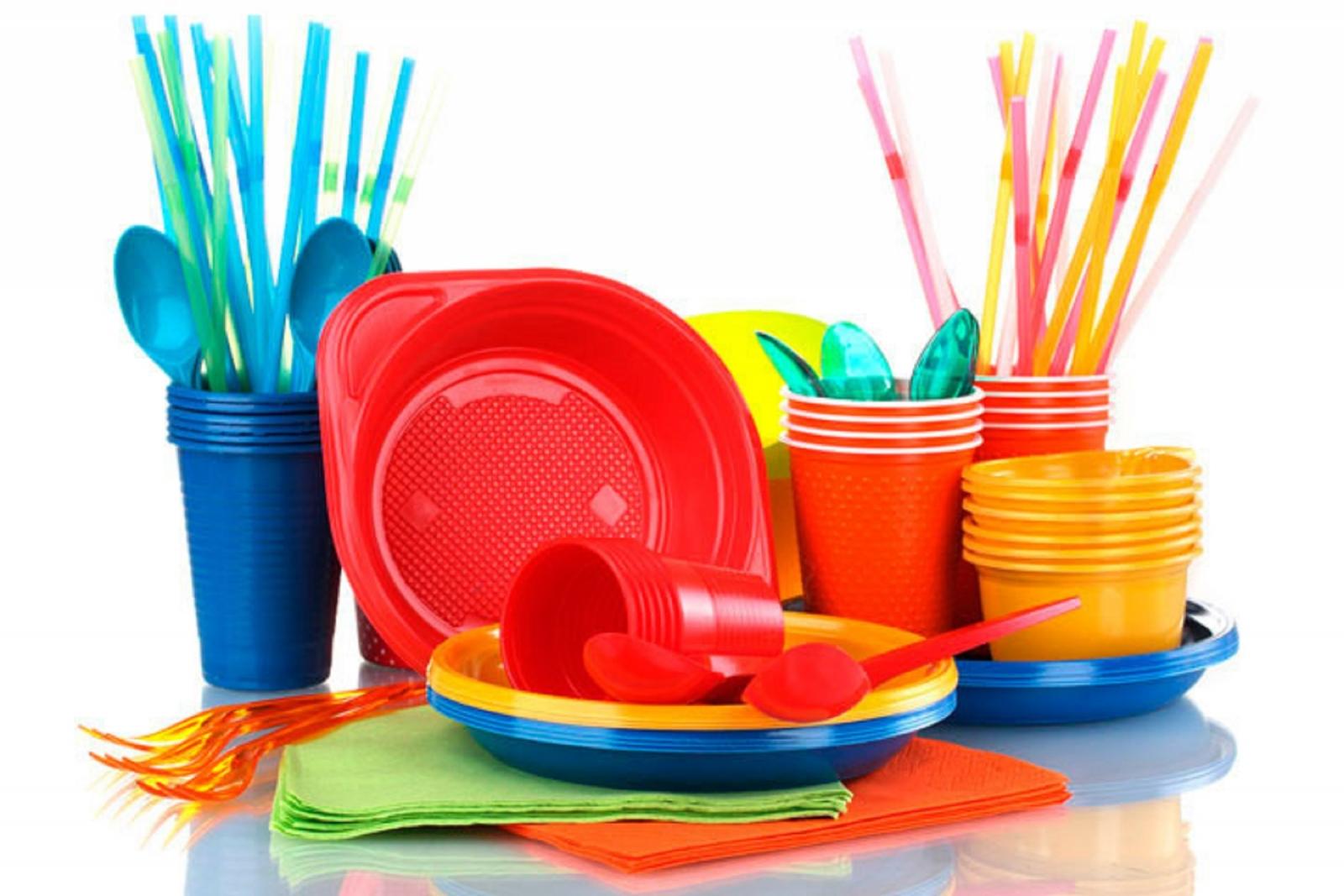 Одноразовая посуда поделки